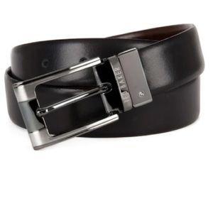 NWT Ted Baker Men's Reversible Leather Belt 32